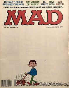 MAD MAGAZINE #210 October 1979 - VF - Lord of the Rings Satire