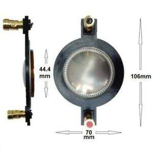 1.75 Compression Driver 8 ohm Replacement Diaphragm 44.4mm Voice Coil