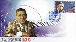 Artsakh (Karabakh) 2021 FDC Mi 237 Arno Babajanyan  Soviet composer pianist