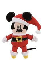 Disney Pook-A-Looz Christmas Santa Mickey Mouse Plush Retired Rare New With Tags