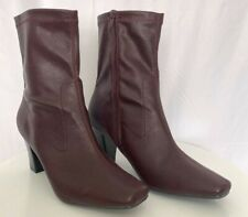 New, Women's Aerosoles Red Mid Calf Boots - Size 11