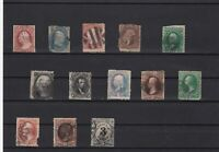 united states early stamps some faults huge cat value ref r8424