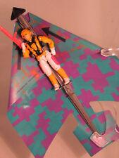 Vintage 1991 GI G.I. Joe ARAH Cloudburst (v1) with Glider