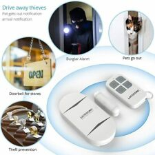 Door Alarm Sensor - Premium Quality - Wireless Magnetically Triggered Wireless