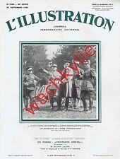 L'illustration n°4568 du 20/09/1930 Masaryk Vaison-la-Romaine Scaphandrier Hitle
