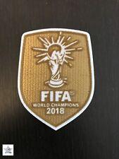 Patch Officiel  Vainqueur Coupe Du Monde 2018. World Cup Winner Badge Gold Or