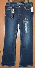 Womens Dark Wash Rhythm in Blues Boot Cut Jeans Size 12 NWT NEW