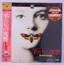 04065 F/S Mint Laserdisc / the silence of the lambs / [Pilf-7137] w/Obi Japan