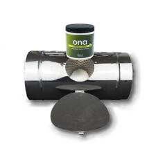"ONA DUCT CONTROL KIT 6"" ODOUR REMOVE SMELLS. FRESH LINEN BLOCK HYDROPONICS"