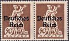 DR, Infla, Mi.Nr. 124 VII_124, Paar postfrisch geprüft INFLA Berlin einwandfrei