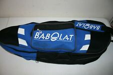 Babolat Tennis Racquet Bag Case Blue Black White with Double Compartment