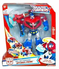 Transformers Animated Supreme Class Roll Out Command Optimus Prime New 12 Inch