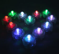 FREE SH 10 LED Multi-color changing RGB submersible holiday Party Light Gift