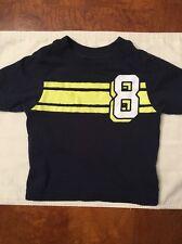 Infant Boys Children's Place Navy Blue Short Sleeve Tee-Shirt-Size 6-9