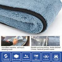 45cmx38cm Microfiber Super Thick Plush Car Cleaning Drying Cloths Towel Polish X