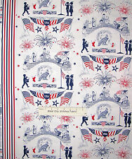 Patriotic USA Fireworks Children Flag Cotton Fabric Studio E Lets Celebrate YARD