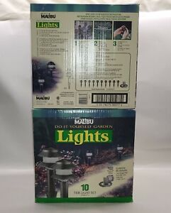 Intermatic LX10610T25 Malibu 10 Pack Low-Voltage Two-Tier Plastic Lights Pathway