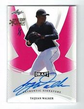 TAIJUAN WALKER 2013 Leaf Draft RED AUTO #1/1 Holiday Bonus On Card ROOKIE RC SP