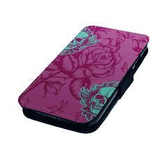 Cover e custodie rosa in pelle sintetica con un motivo, stampa per cellulari e palmari