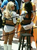 Sexy 8x10 Unsigned NFL Cheerleader Photo San Diego Chargers Charger Girls FRC213