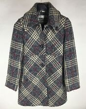 Larry Levine Wool Blend Trench Coat Womens Size 6