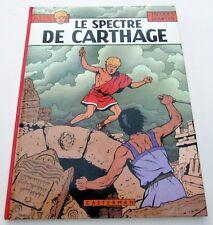 ALIX J MARTIN  LE SPECTRE DE CARTHAGE  EO 1977 DEDICACE TTBE