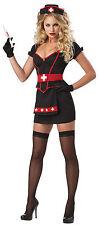 Womens Small 6-8 Regular and Plus Size Sexy Cardiac Arrest Nurse Costume - Nurse