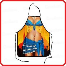 APRON-ATTITUDE FUNNY-SEXY BELLY DANCER MIDDLE EASTERN DANCE-COOKING-COSTUME-BBQ