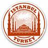 2 x Vinyl Stickers 7.5cm - Istanbul Turkey Architecture Travel Cool Gift #5395
