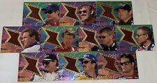 1997 Jurassic Park THUNDER LIZARD SET Dale Earnhardt JEFF GORDON RARE #'d SSP