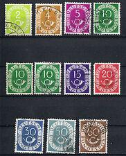 Gestempelte Briefmarken aus der BRD (1948-1954) mit Echtheitsgarantie