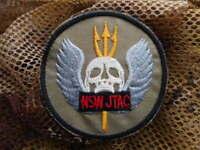US NAVY SEAL TEAM NSW naval special warfare JTAC DevGru VELCR0 PATCH BADGE new