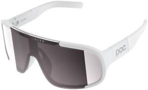 POC Aspire Sunglasses - Hydrogen White, Violet/Silver-Mirror Lens