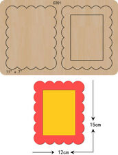 new card Photo frame  Wooden Die Thick 15.8mm Cutting Dies  Scrapbooking  C-201