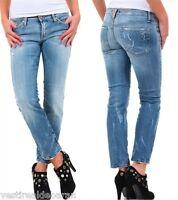 Jeans Donna Pantaloni SEXY WOMAN A589 Tg S M