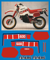 YAMAHA XT 600 Z TENERE 1VJ 86  - adesivi/adhesives/stickers/decal
