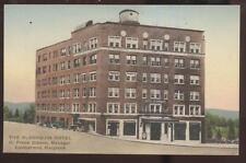 Postcard CUMBERLAND Maryland/MD  Algonquin Hotel view 1920's