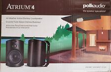 Polk Audio ,Atrium 4 outdoor speakers, In white, Pair, New in original box.