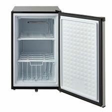 Smad Upright Freezer, 3.0 Cubic Feet, Stainless Steel E-star Freezer
