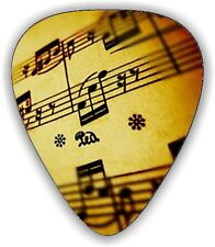 10 X SHEET MUSIC ~ GUITAR PICKS  *Printed Both Sides*