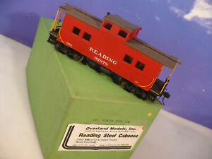 BRASS O Overland Reading NMh Steel Caboose C/P NO RESERVE