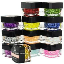 12pcs New Professional Hexagon Glitter Pigment Color UV Gel Nail Art Polish