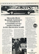 1984 Mercedes Benz 300TD Wagon -  Original Advertisement Car Print Ad J513