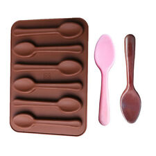 Silicone Baking Mould Spoon Design Chocolate Cake Biscuit Candy DIY Mold Decor
