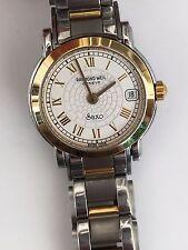 RAYMOND WEIL SAXO 18K Gold plated Ladies Luxury Quartz watch. c2007