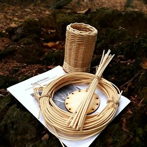 Pencil Holder DIY Basketry Kit Homeschooling Craft Ideas Christmas Gift