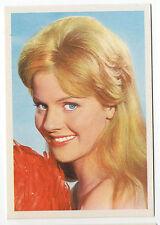 1960s German Film Star Card #108 German Eurovision Singer Heidi Bruhl