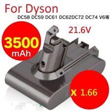 3500mAh Battery for Dyson V6 DC58 DC59 DC61 DC62 DC72 DC74 Animal 21.6V