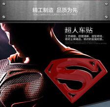 SUPERMAN LOGO Car Auto Badge Emblem Sticker Motor 3D Metal Bronze Chrome New