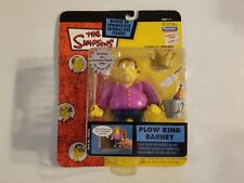 The Simpsons Action Figure Plow King Barney Series 11 199430, Lot G3.
